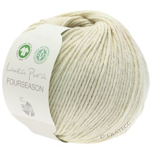 Lana Grossa FOURSEASON (Linea Pura) | 12-raw white