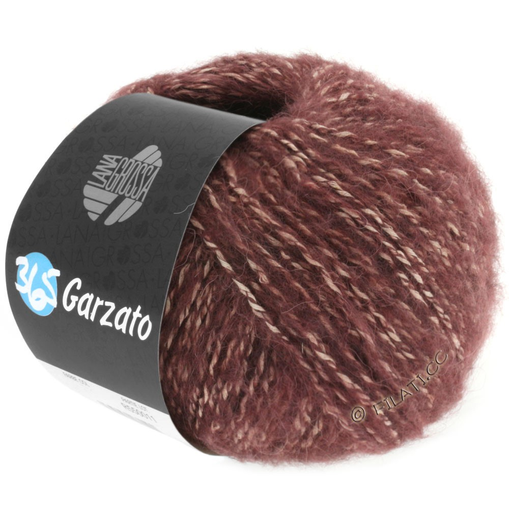 Lana Grossa 365 GARZATO | 08-blackberry mix