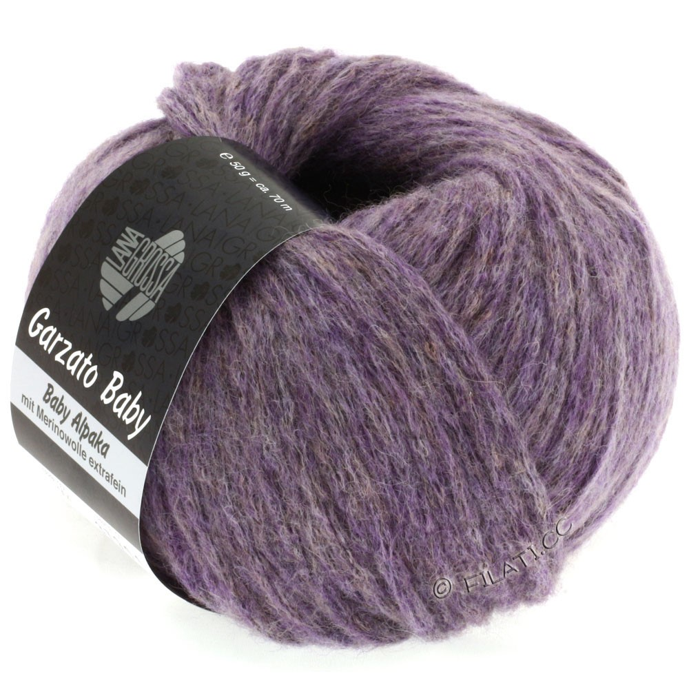Lana Grossa GARZATO Baby | 04-purple mottled