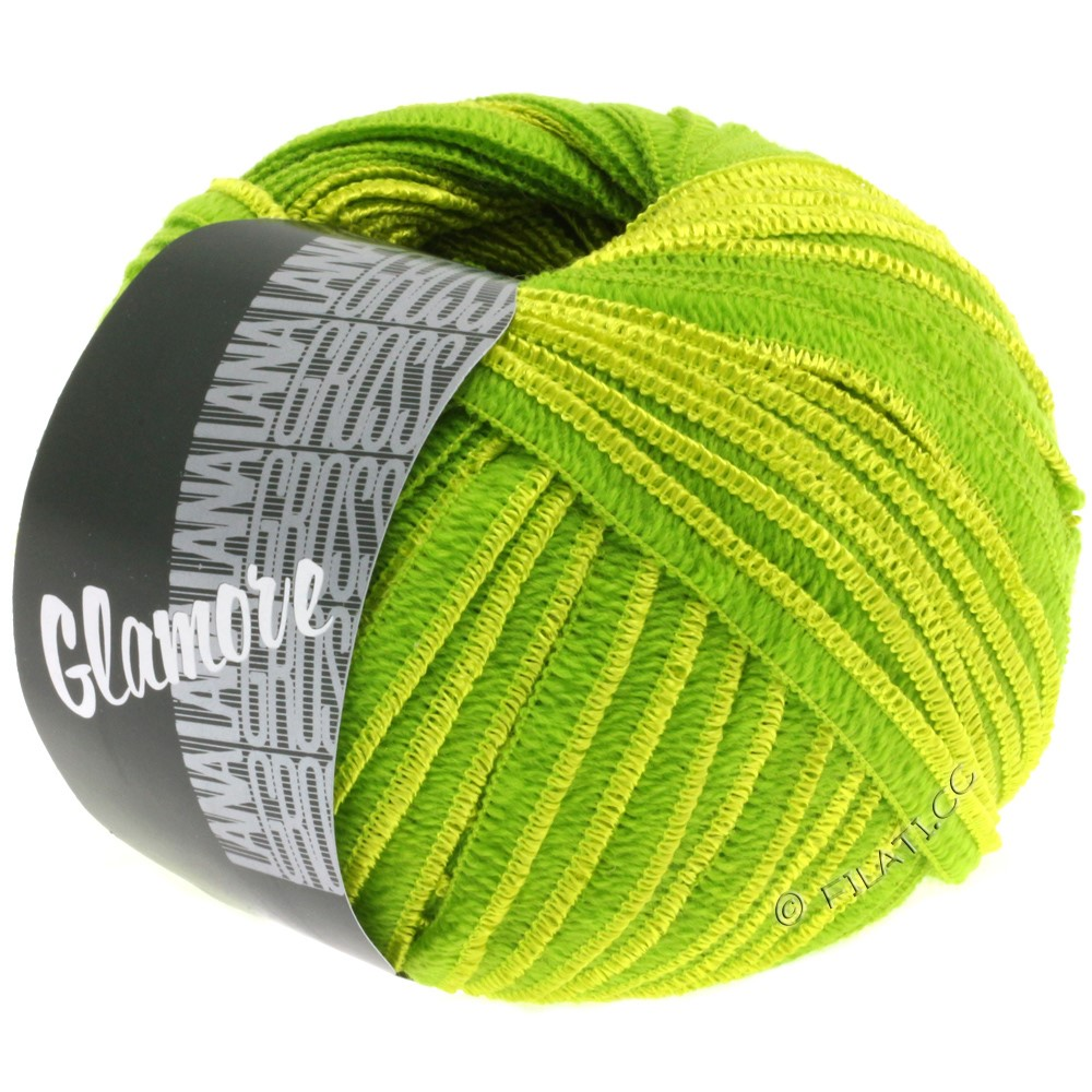 Lana Grossa GLAMORE | 20-green/yellow green