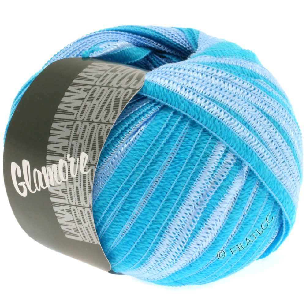 Lana Grossa GLAMORE | 21-light blue