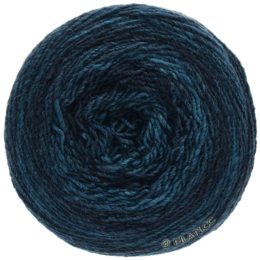Lana Grossa GOMITOLO 200 Degradé | 307-dark blue/petrol