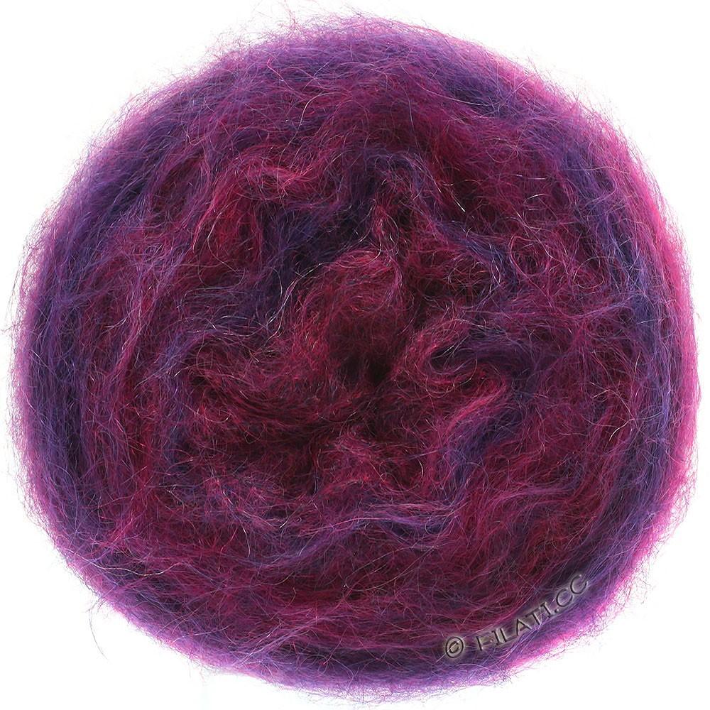 Lana Grossa GOMITOLO SILKHAIR | 208-blue violet/red violet mottled