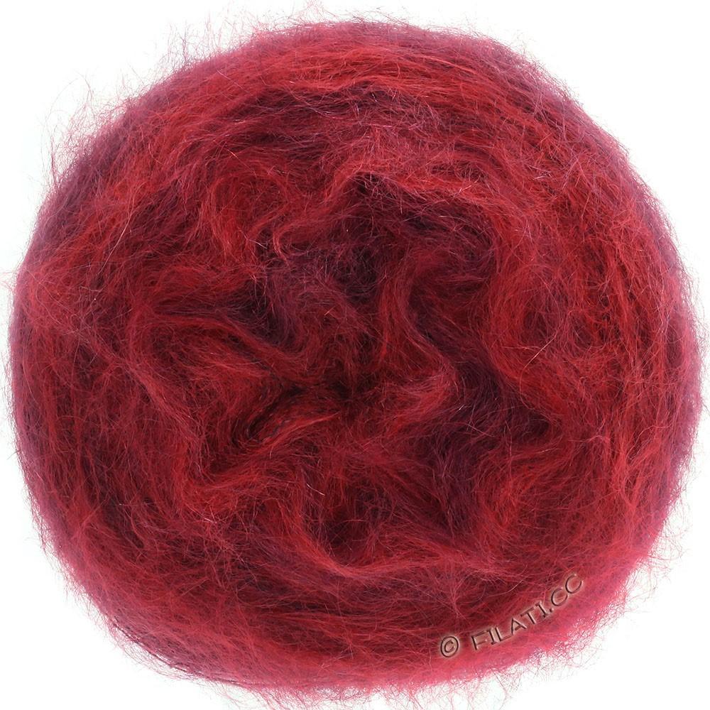 Lana Grossa GOMITOLO SILKHAIR | 209-red/burgundy mottled