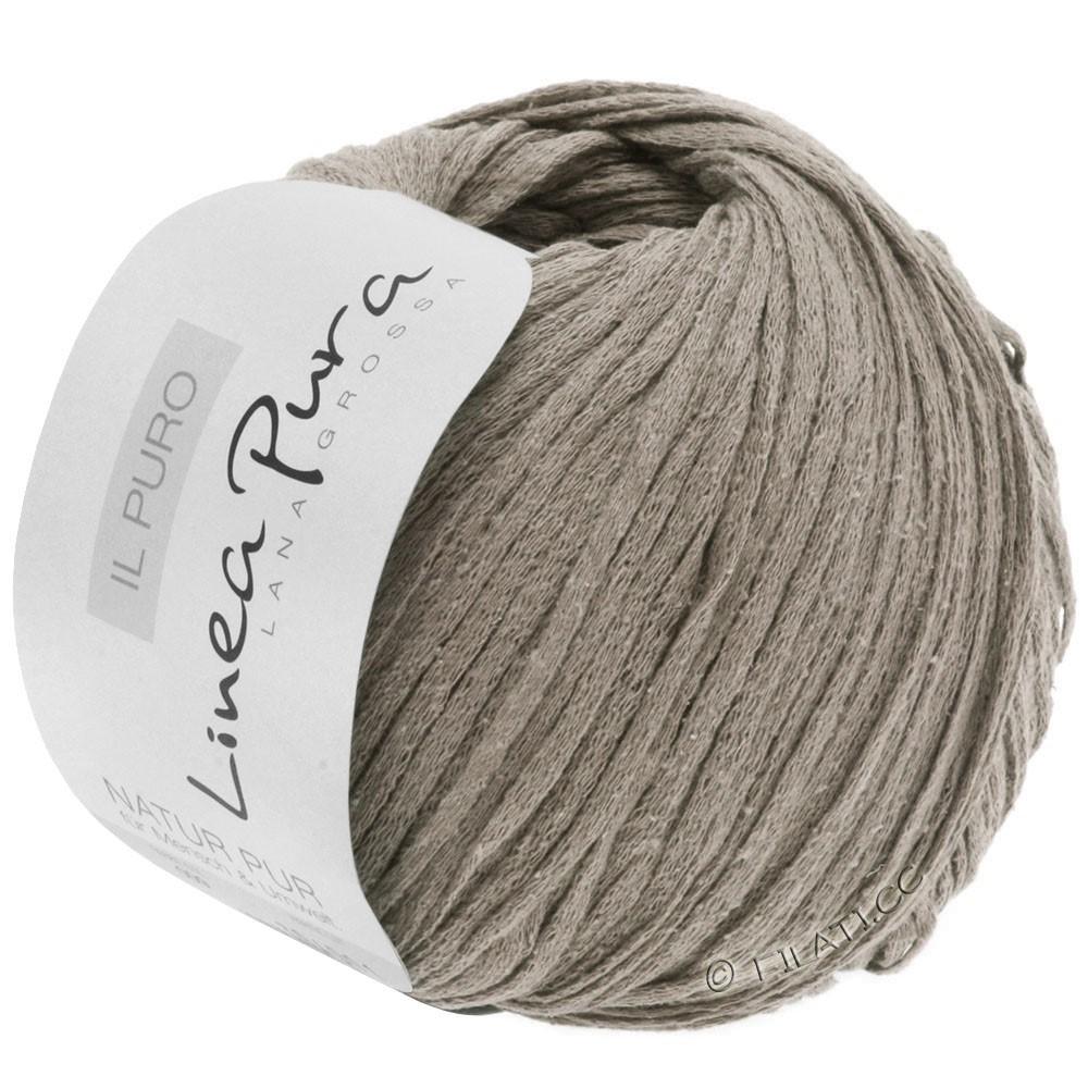 Lana Grossa IL PURO (Linea Pura) | 21-gray brown