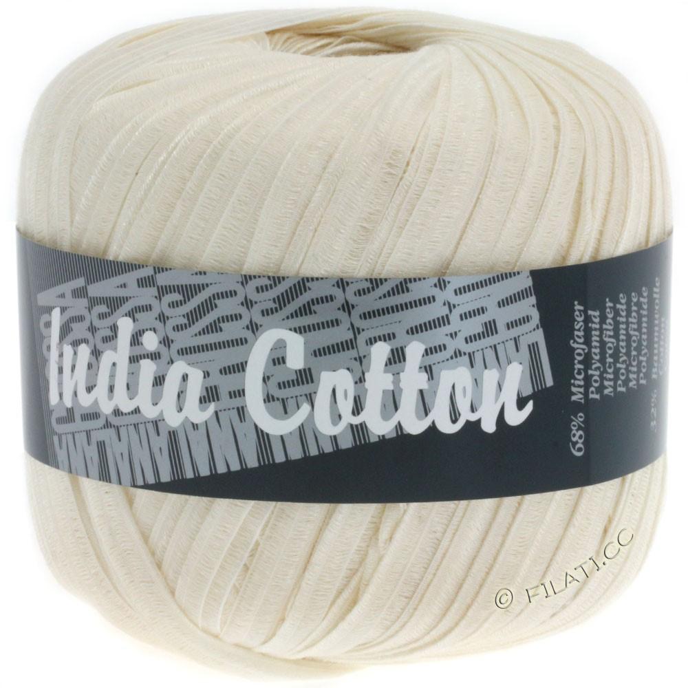 Lana Grossa INDIA Cotton Uni/Print | 201-natural