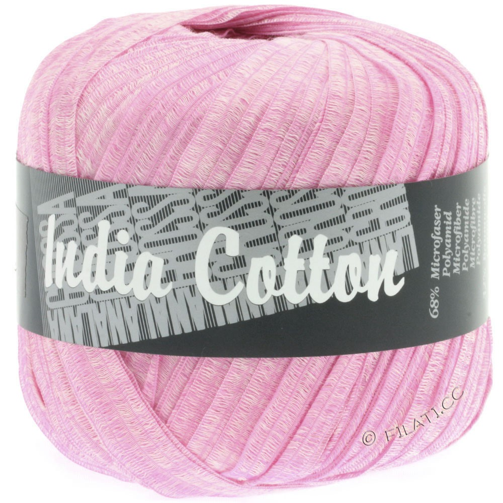 Lana Grossa INDIA Cotton Uni/Print | 206-lilac