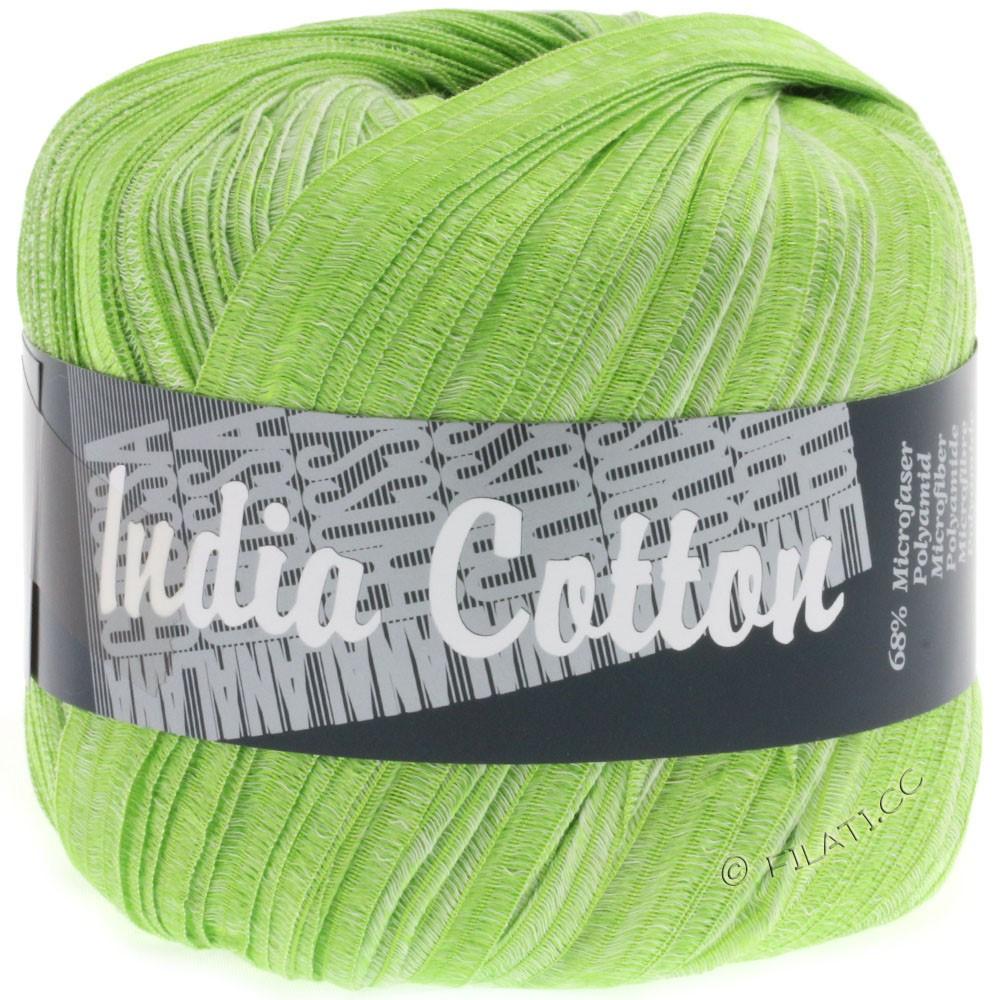 Lana Grossa INDIA Cotton Uni/Print | 212-apple green