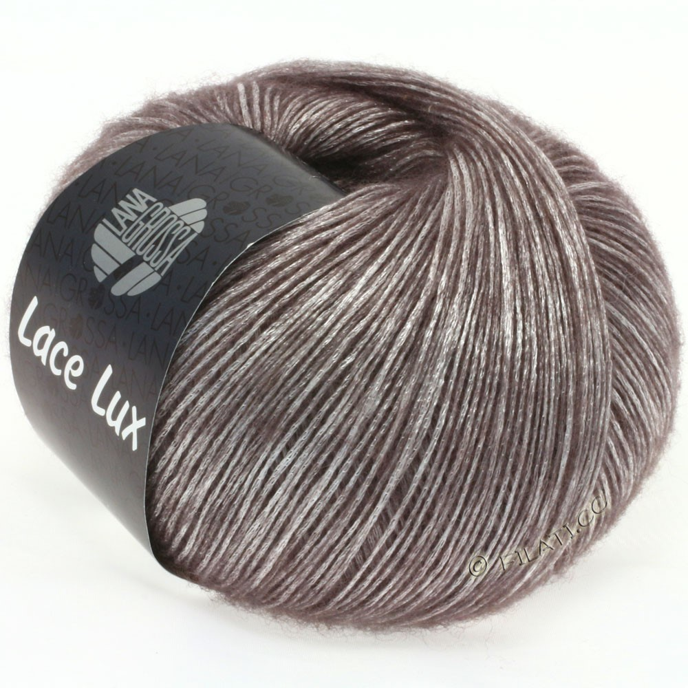 Lana Grossa LACE Lux | 10-gray brown mottled