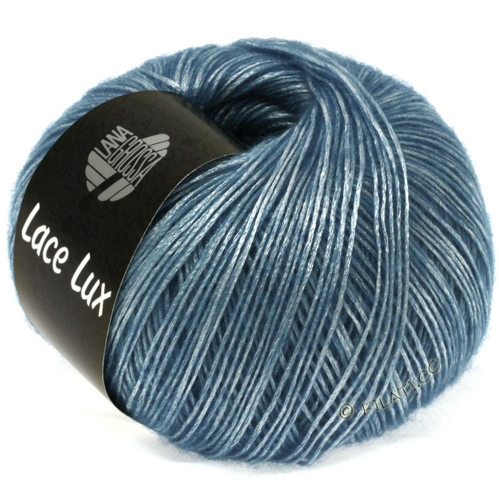 Lana Grossa LACE Lux | 37-light blue mottled