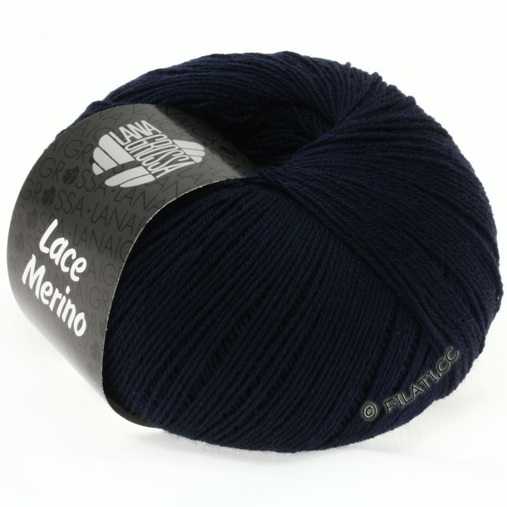 Lana Grossa LACE Merino  Uni | 17-night blue