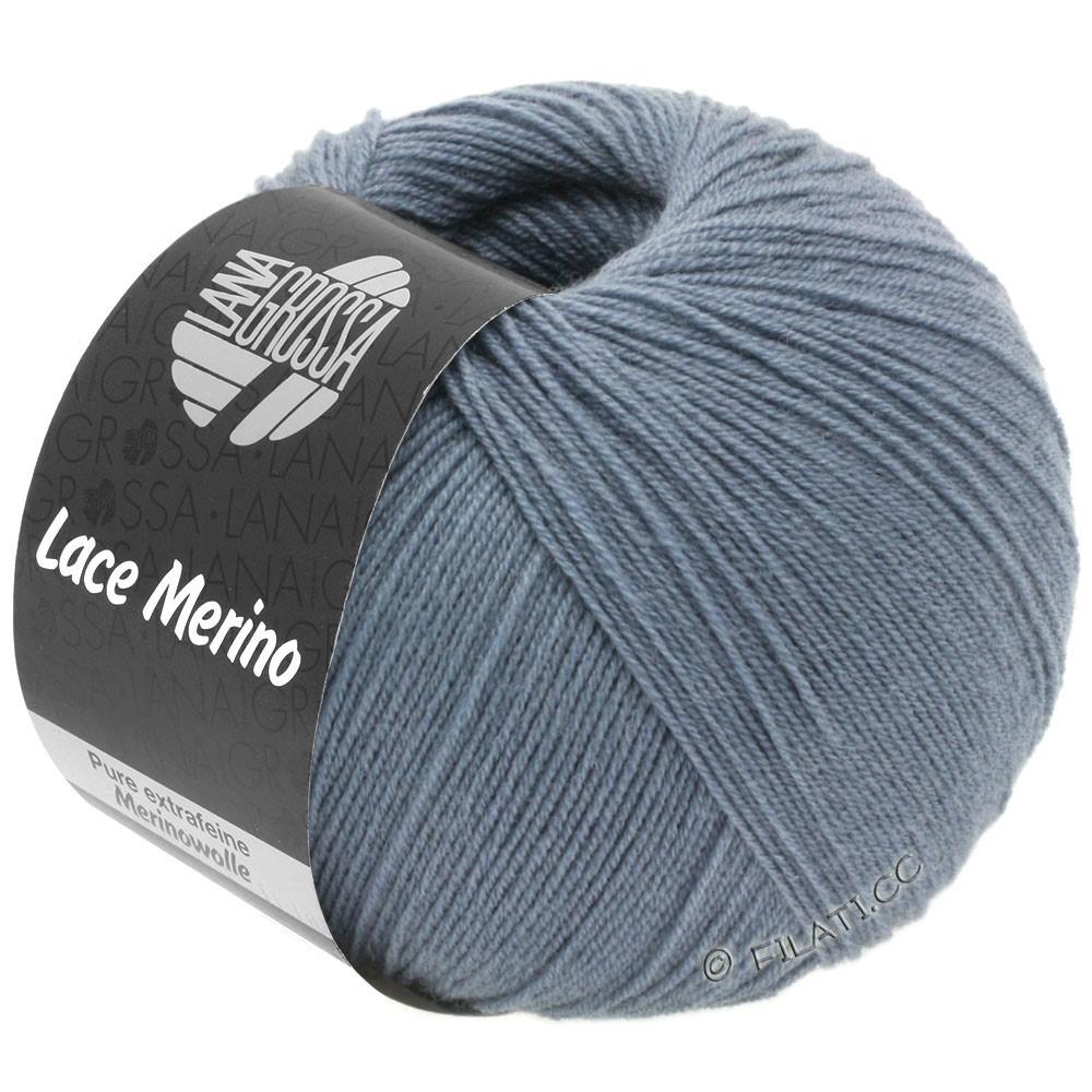 Lana Grossa LACE Merino  Uni | 53-pigeon blue
