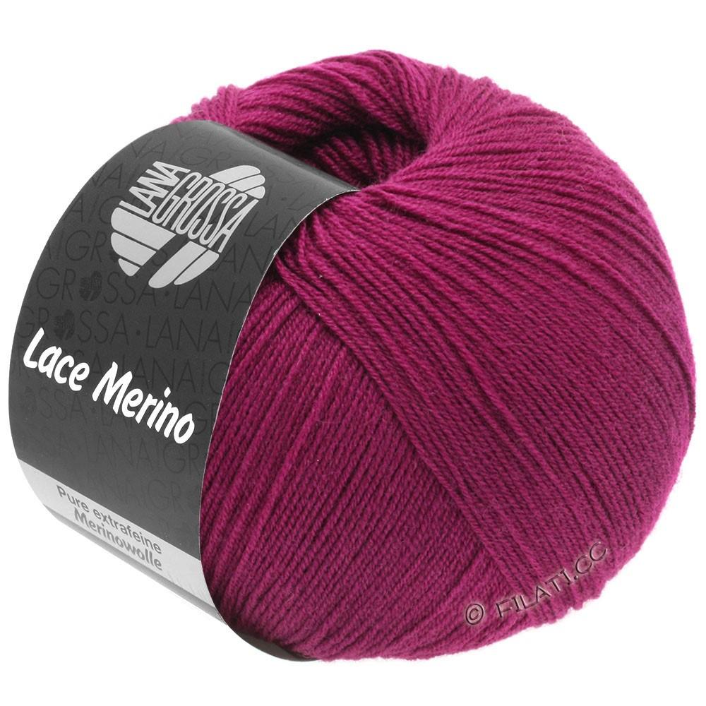 Lana Grossa LACE Merino  Uni | 55-red violet
