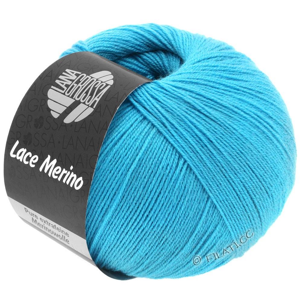 Lana Grossa LACE Merino  Uni | 59-turquoise blue