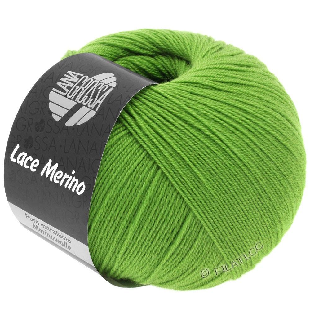 Lana Grossa LACE Merino  Uni   60-luminous green