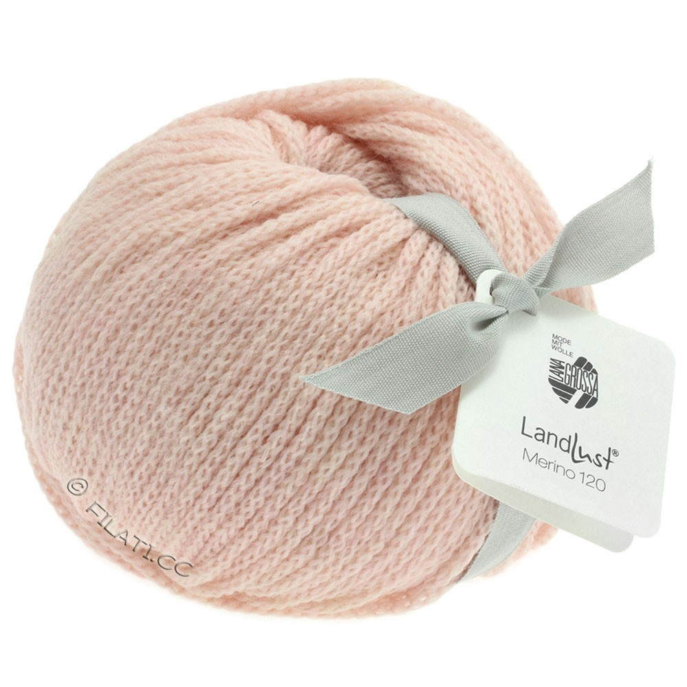 Lana Grossa LANDLUST MERINO 120 | 102-pastel rose
