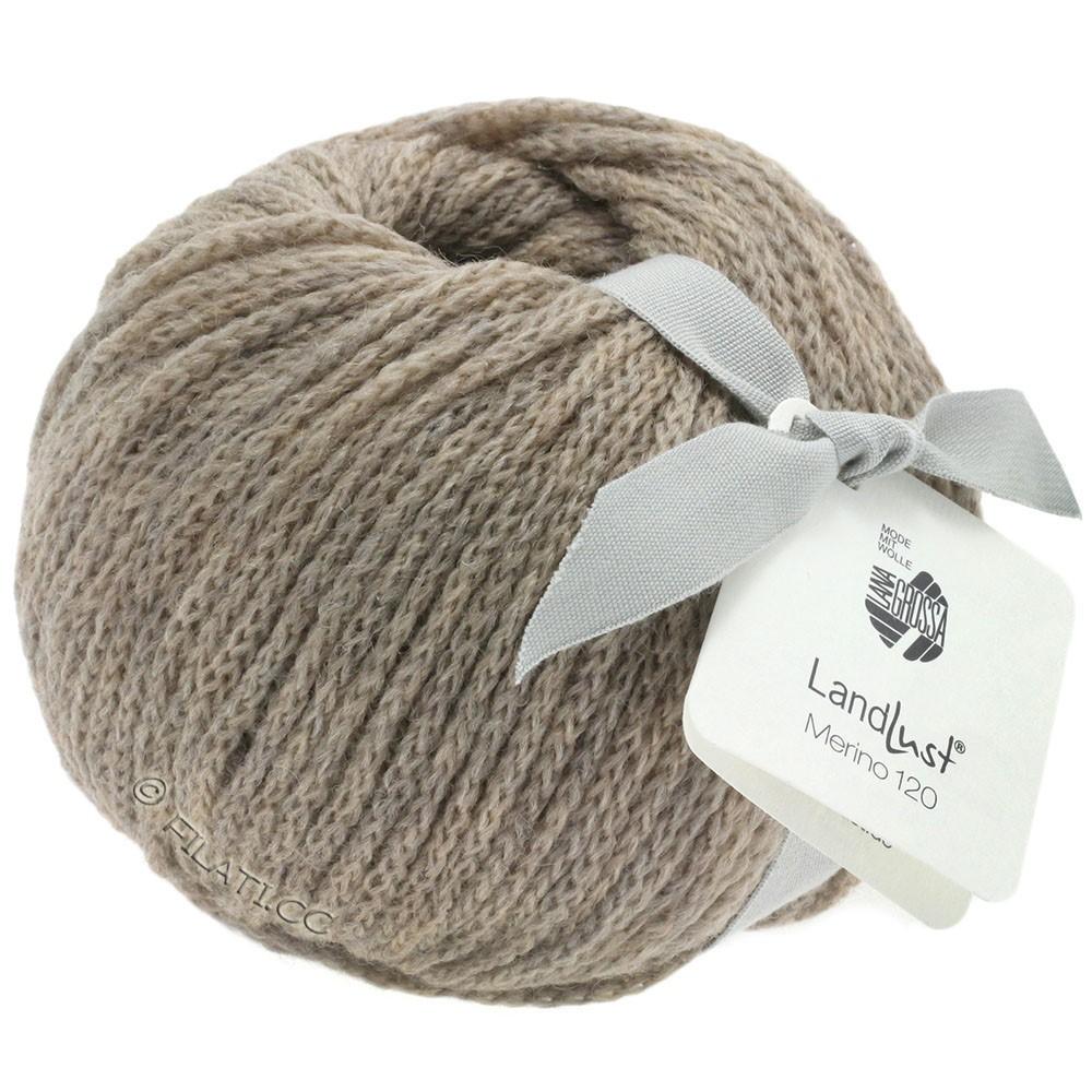 Lana Grossa LANDLUST MERINO 120 | 104-gray beige