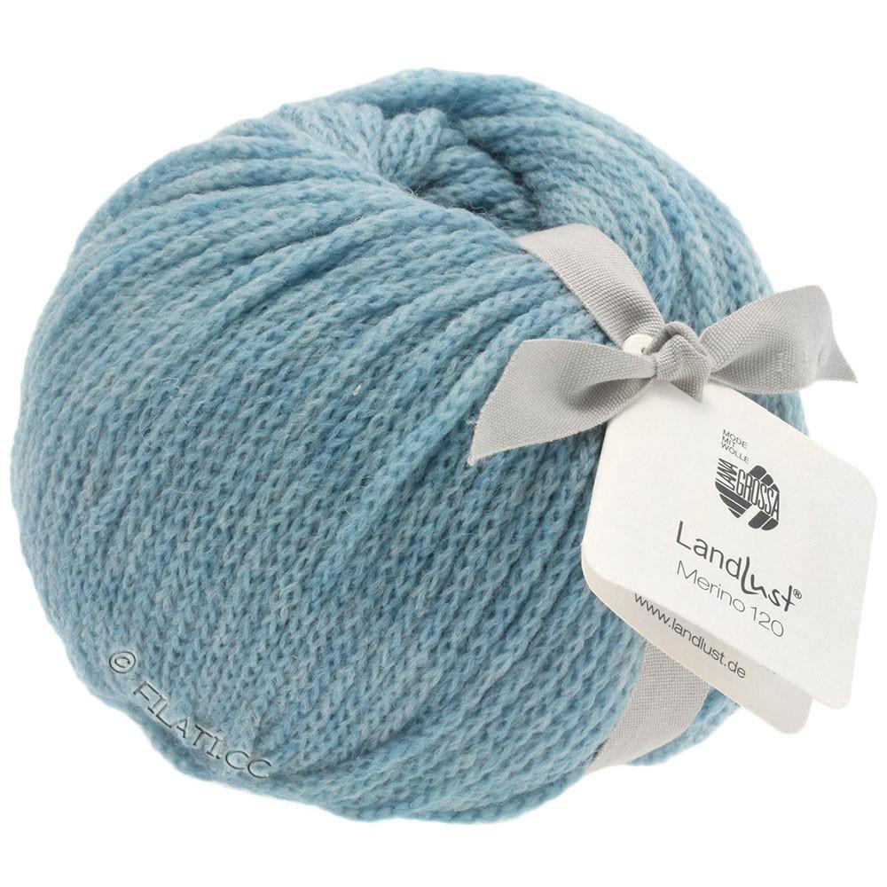 Lana Grossa LANDLUST MERINO 120 | 107-light blue