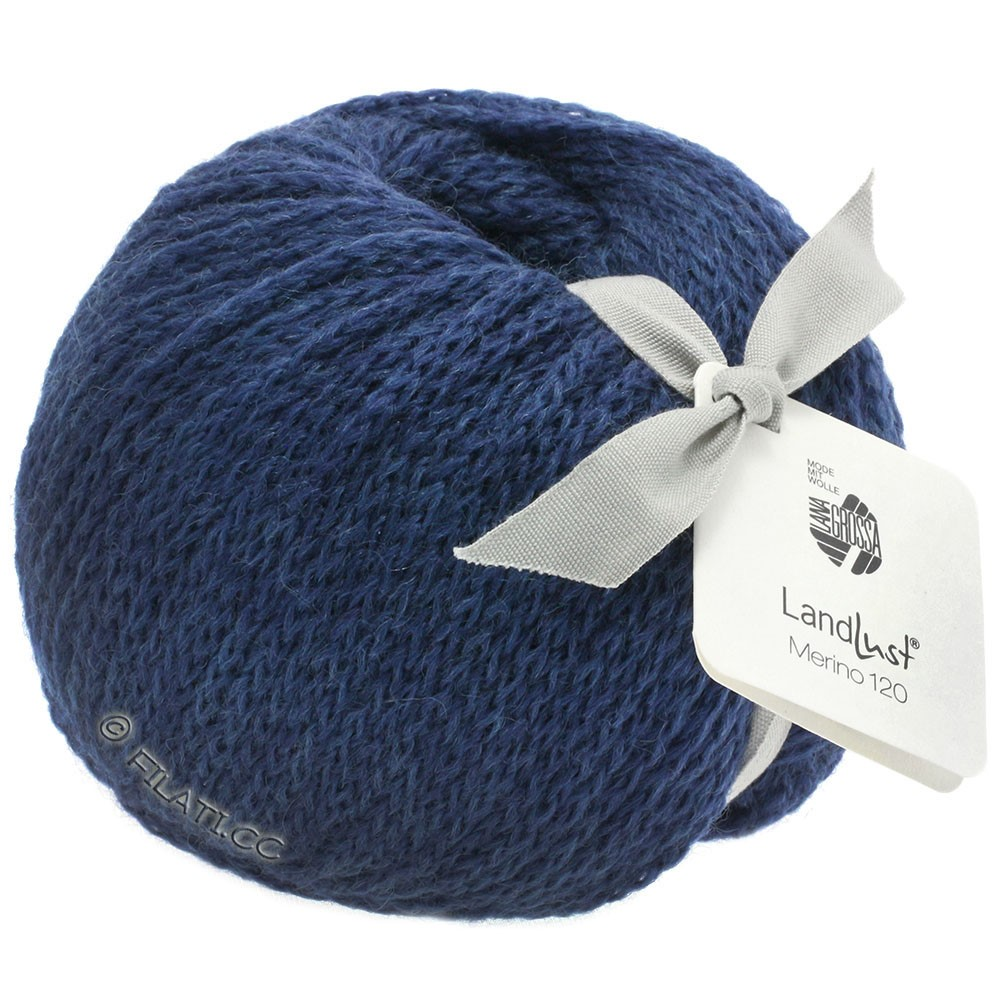 Lana Grossa LANDLUST MERINO 120 | 108-dark blue