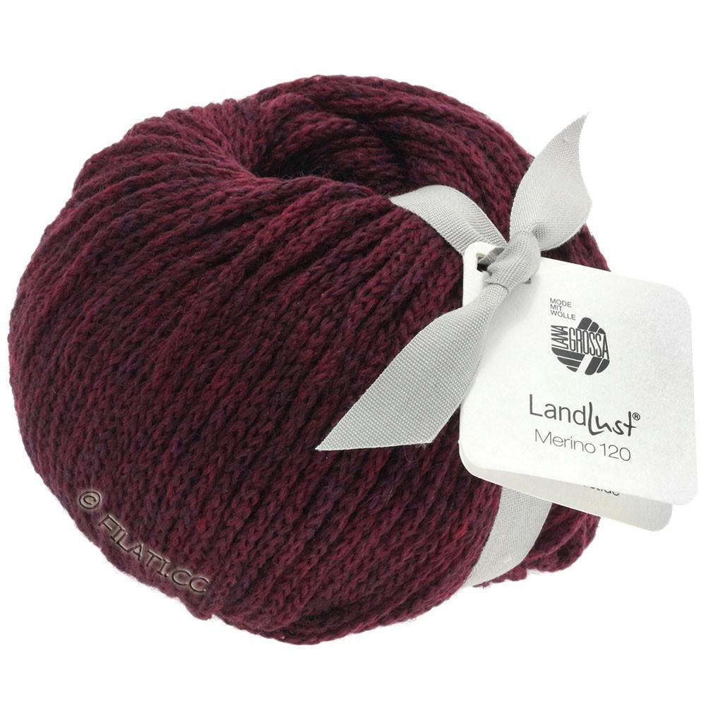 Lana Grossa LANDLUST MERINO 120 | 112-burgundy