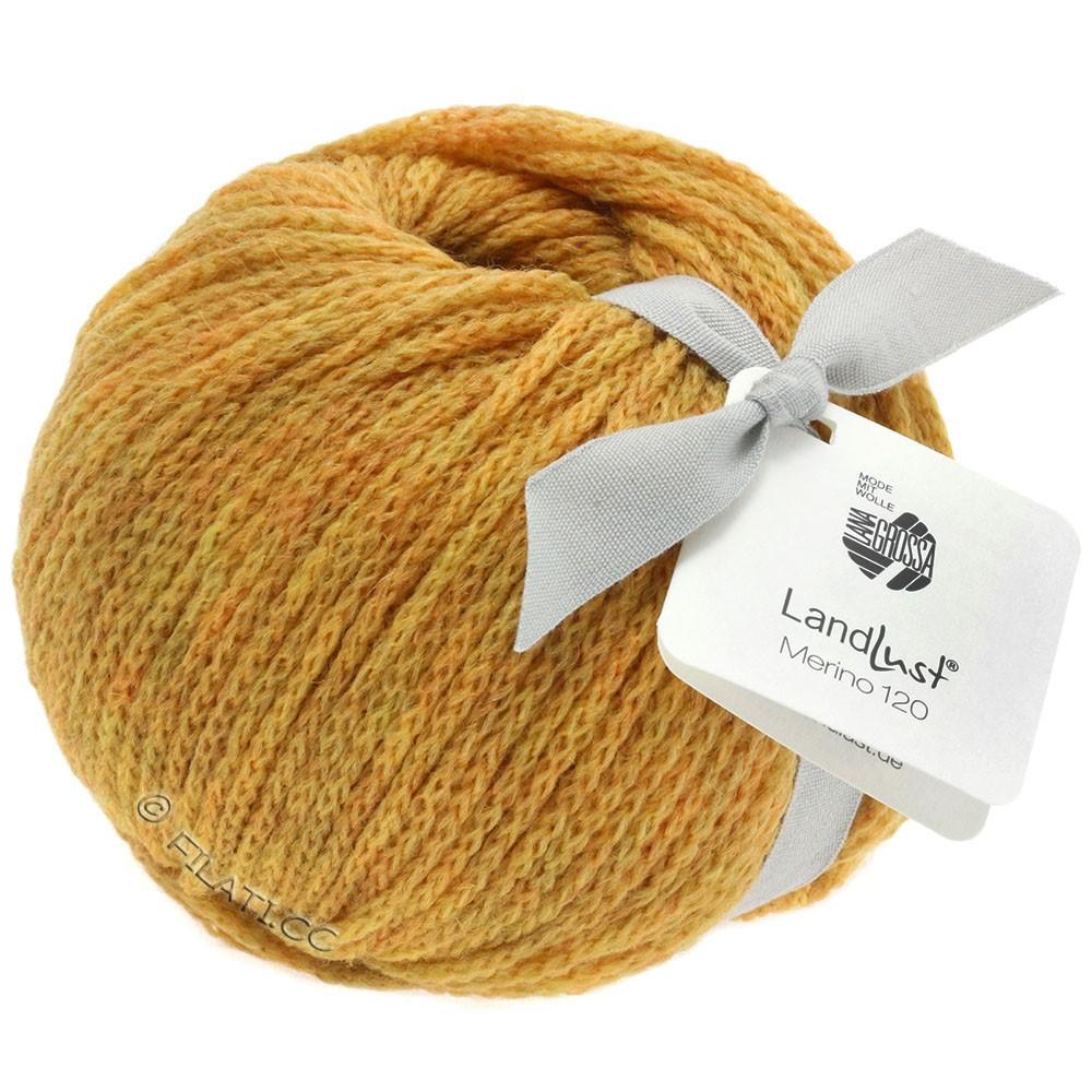 Lana Grossa LANDLUST MERINO 120 | 113-honey yellow