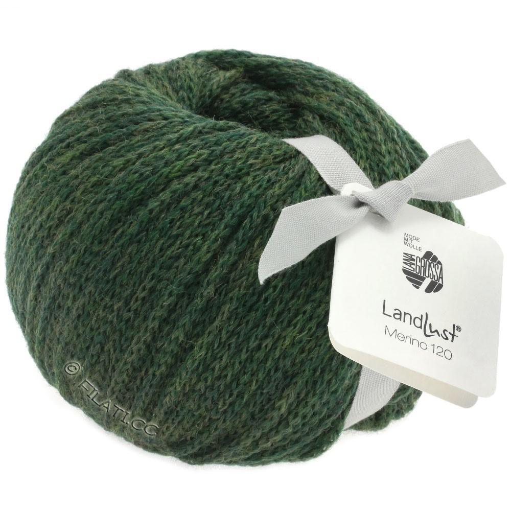 Lana Grossa LANDLUST MERINO 120 | 115-moss green