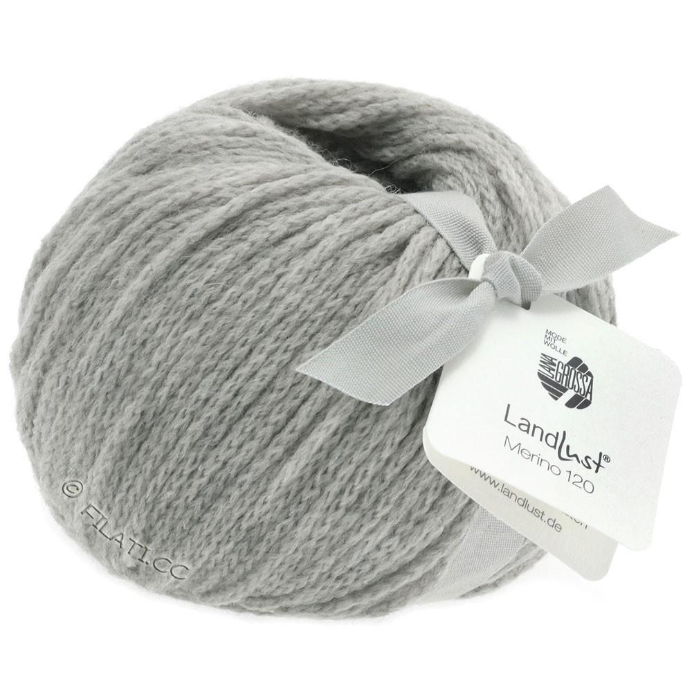 Lana Grossa LANDLUST MERINO 120 | 118-light gray