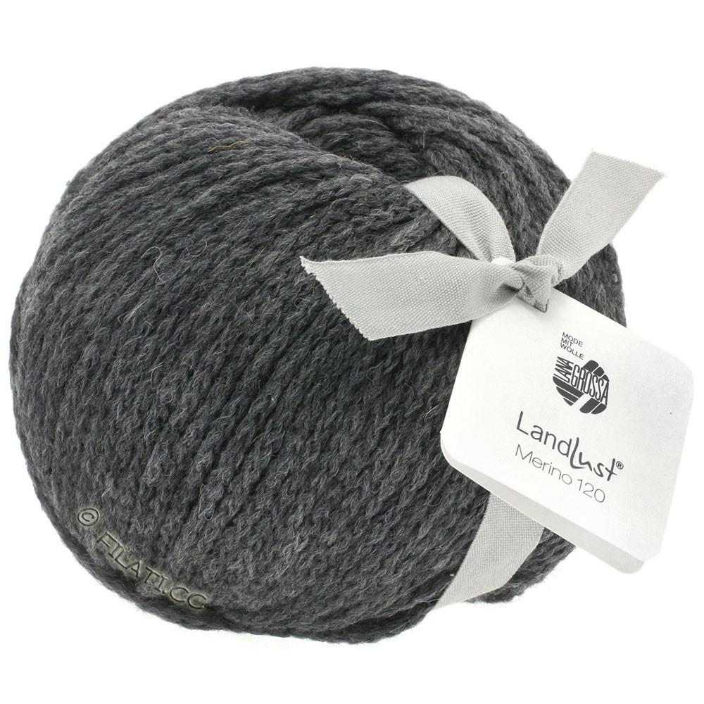 Lana Grossa LANDLUST MERINO 120 | 119-dark gray