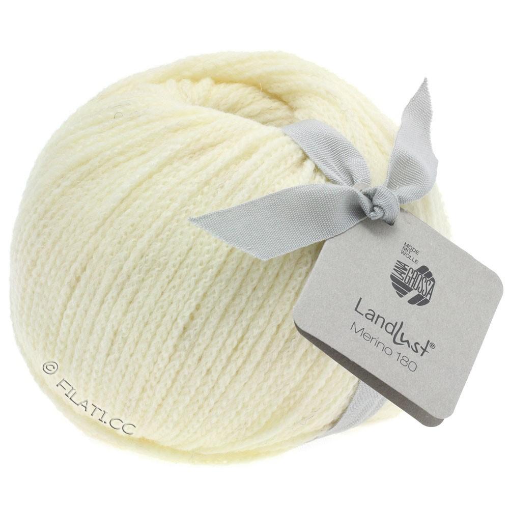 Lana Grossa LANDLUST MERINO 180 | 201-raw white