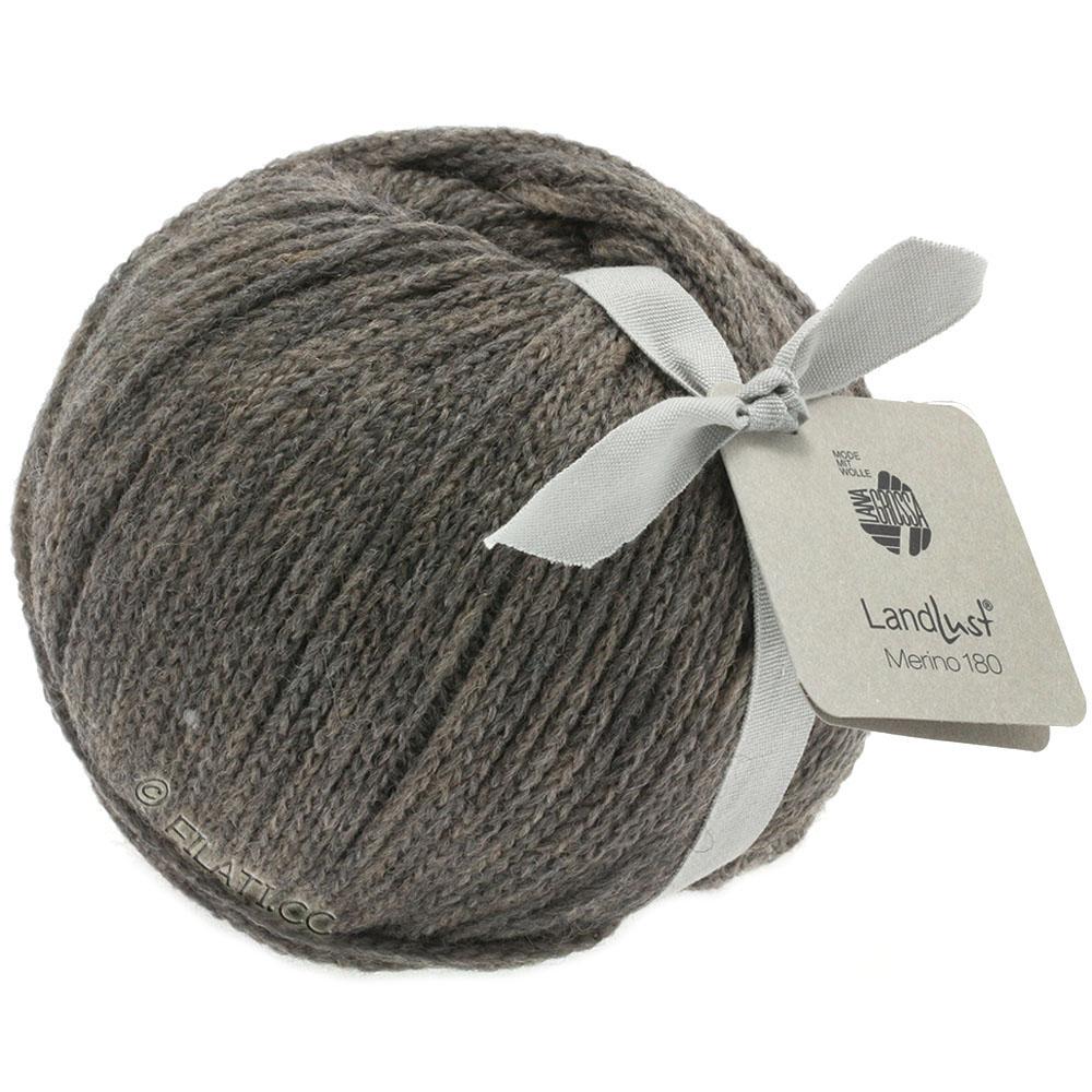Lana Grossa Fb Wolle Kreativ 205 taupe 50 g Landlust Merino 180