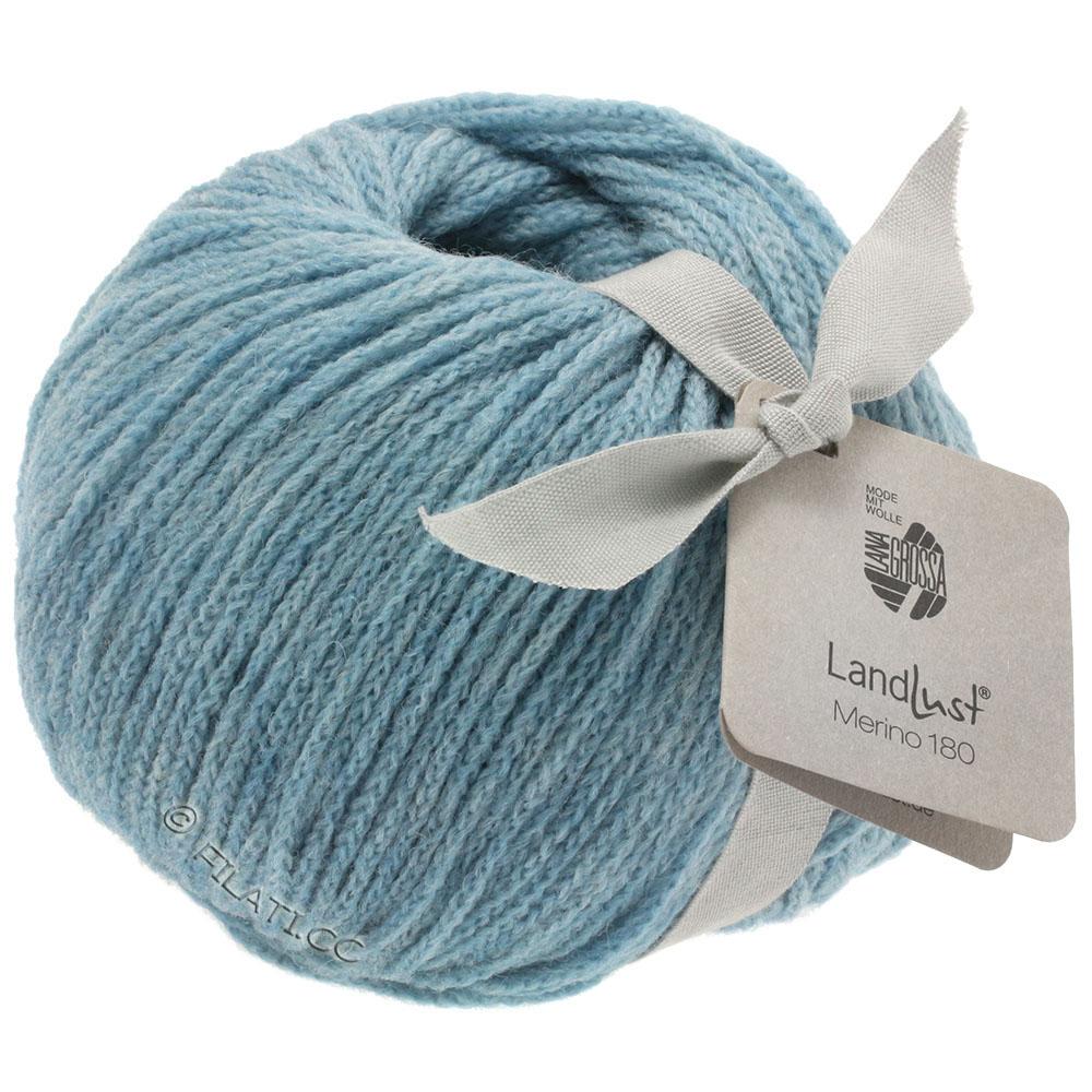Beautiful Lana Grossa Landlust Merino Light Blue With Landlust