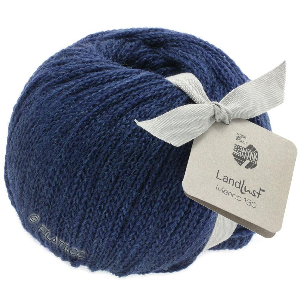 Lana Grossa LANDLUST MERINO 180 | 208-dark blue