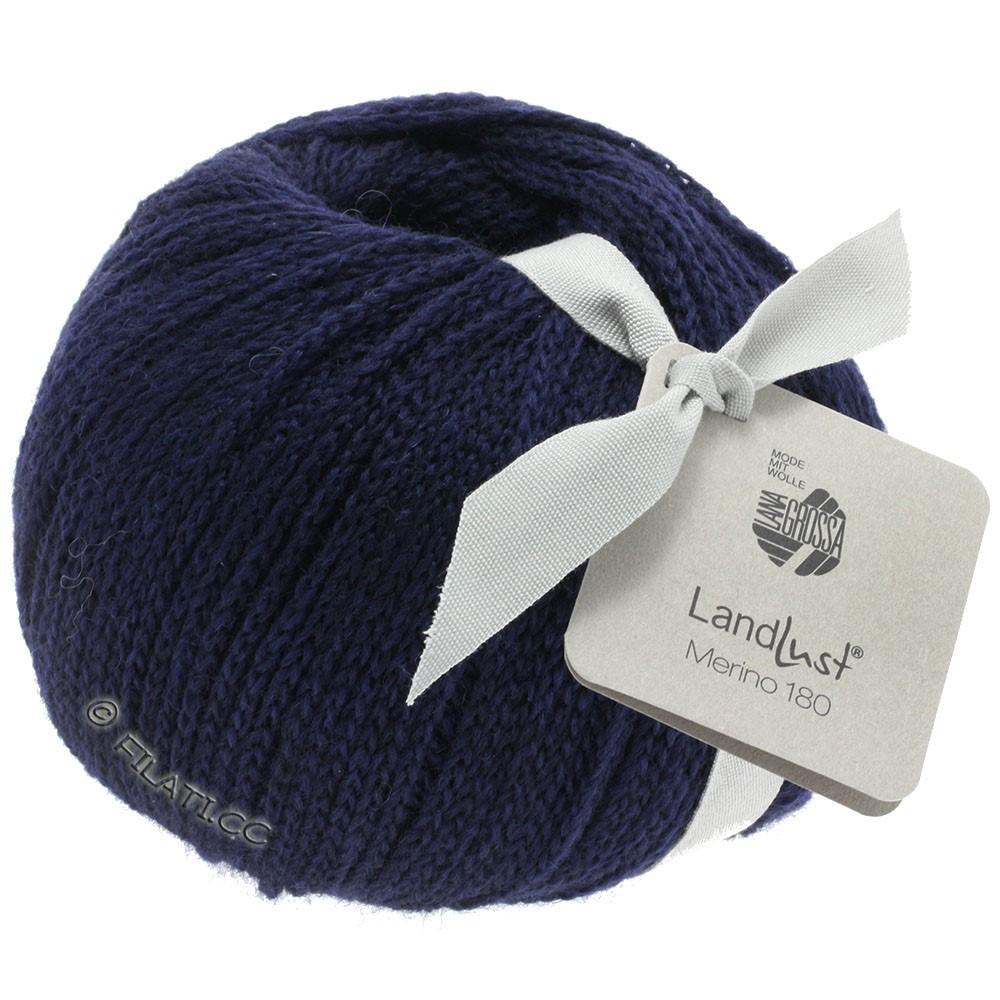 Lana Grossa LANDLUST MERINO 180 | 209-night blue