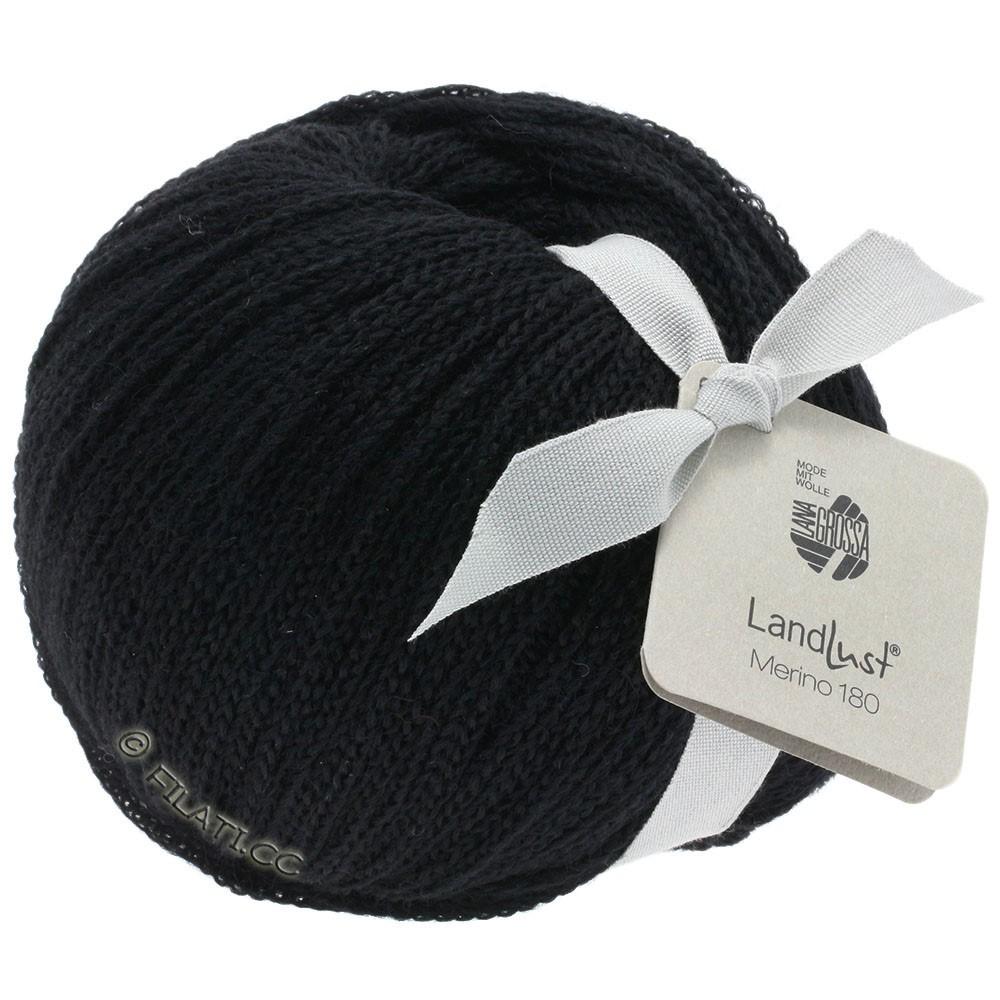 Lana Grossa LANDLUST MERINO 180 | 210-black