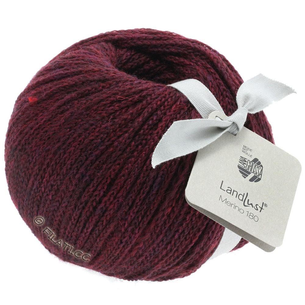 Lana Grossa LANDLUST MERINO 180 | 212-burgundy