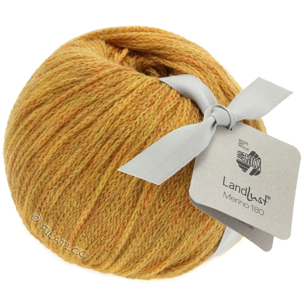 Lana Grossa LANDLUST MERINO 180 | 213-honey yellow