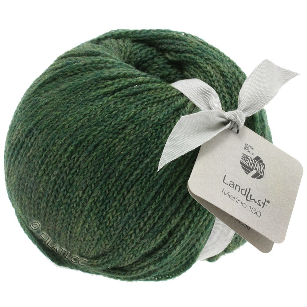 Lana Grossa LANDLUST MERINO 180 | 215-moss green