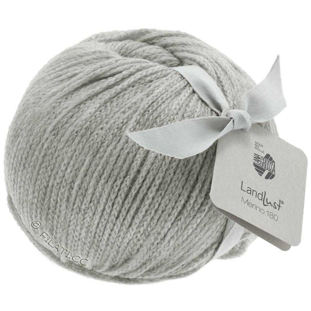 Lana Grossa LANDLUST MERINO 180 | 218-light gray