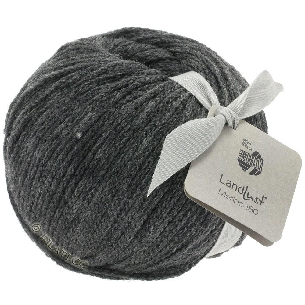 Lana Grossa LANDLUST MERINO 180 | 219-dark gray