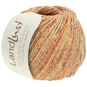 Lana Grossa LANDLUST SOMMERSEIDE | 101-beige/orange/brown