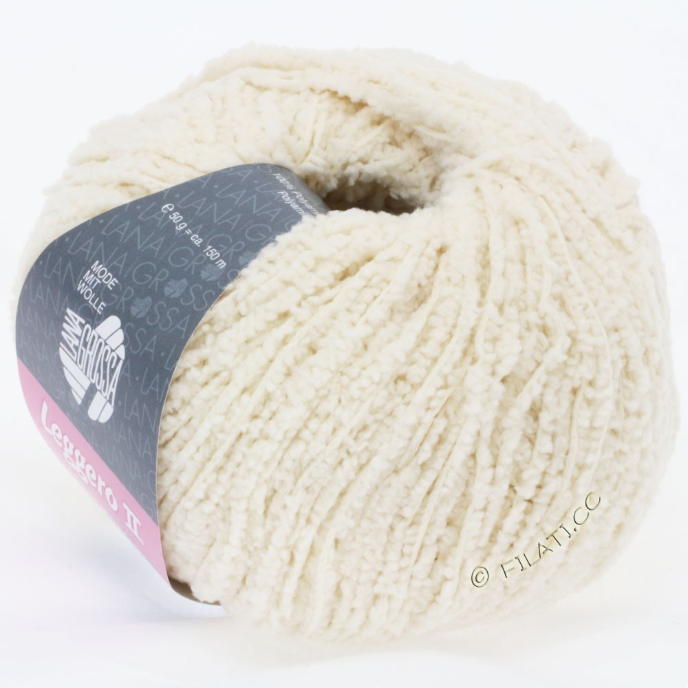 Lana Grossa LEGGERO II Uni | 09-raw white