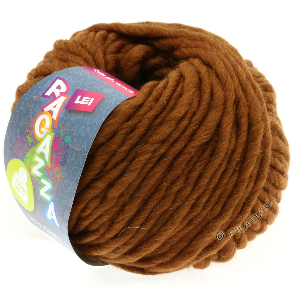 Lana Grossa LEI  Uni/Neon (Ragazza)   036-fawn brown