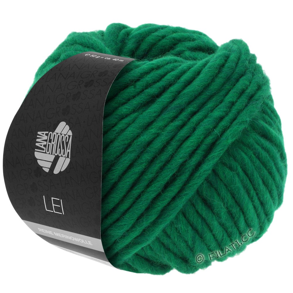 Lana Grossa LEI  Uni/Neon (Ragazza) | 042-emerald