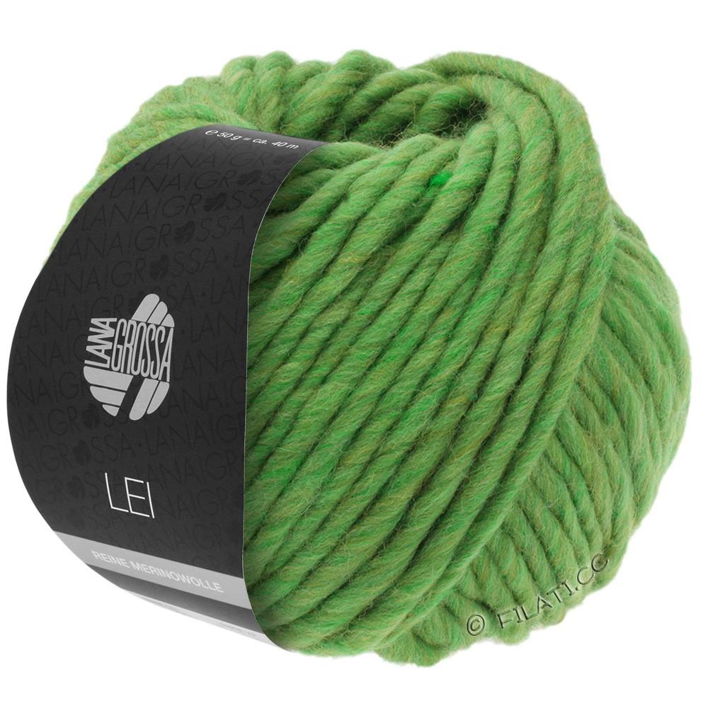 Lana Grossa LEI  Uni/Neon (Ragazza) | 043-green/olive mottled