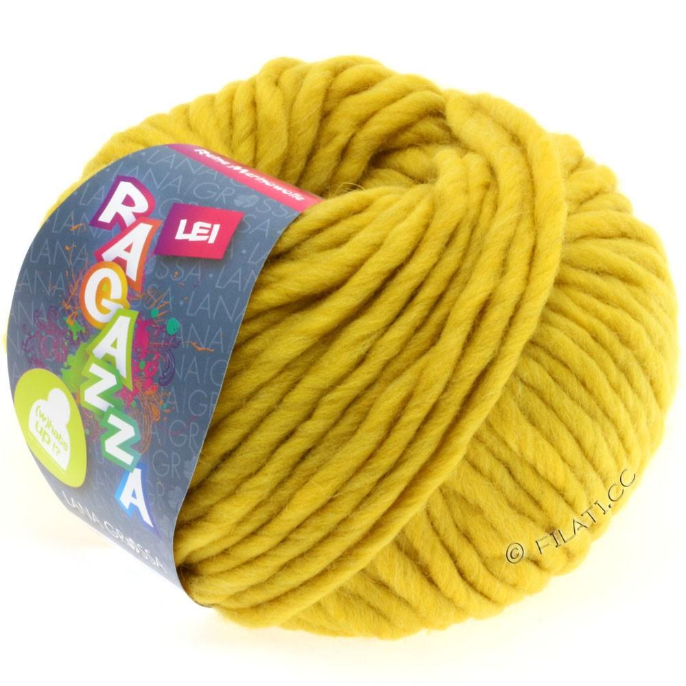 Lana Grossa LEI  Uni/Neon (Ragazza)   050-mustard