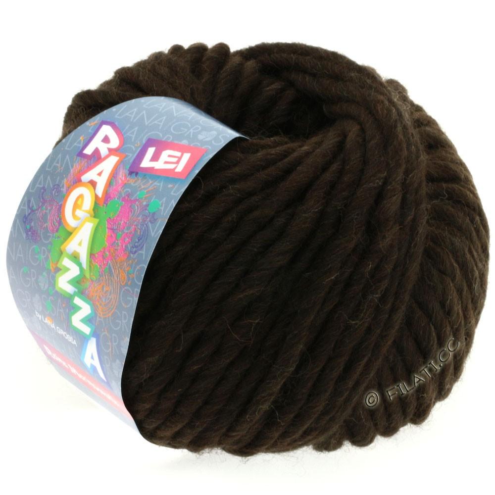 Lana Grossa LEI  Uni/Neon (Ragazza) | 060-black brown