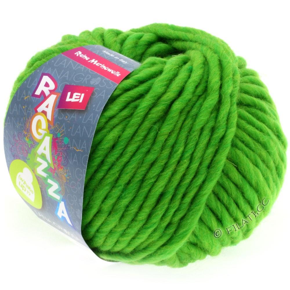 Lana Grossa LEI  Uni/Neon (Ragazza) | 061-bilious green mottled