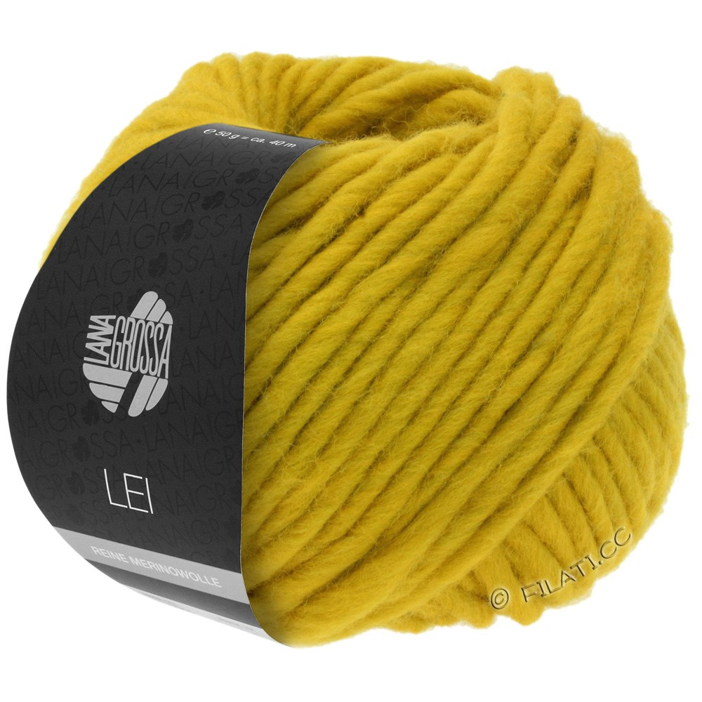 Lana Grossa LEI  Uni/Neon (Ragazza) | 067-saffron yellow