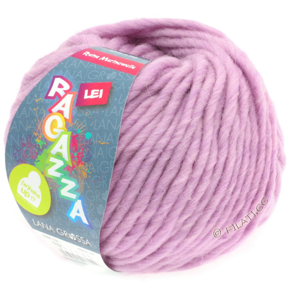 Lana Grossa LEI  Uni/Neon (Ragazza) | 072-lilac