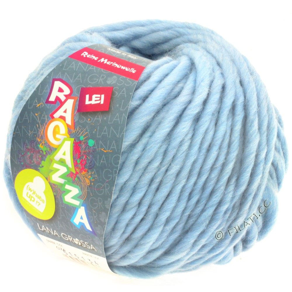 Lana Grossa LEI  Uni/Neon (Ragazza) | 074-light blue